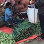 K R Market – największy targ w Bangalore