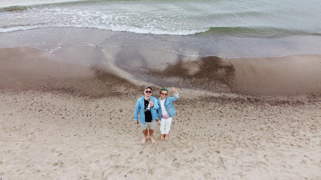 Plaże napomorzu zachodnim